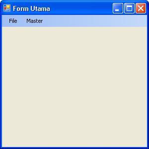 Form Utama
